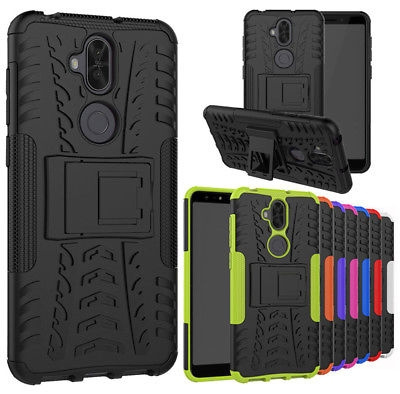 online retailer c6f3d cc0b8 For Asus Zenfone 5 Lite ZC600KL Heavy Duty Shockproof Hybrid Rugged Armor  Kickstand Case Protective Phone Cover