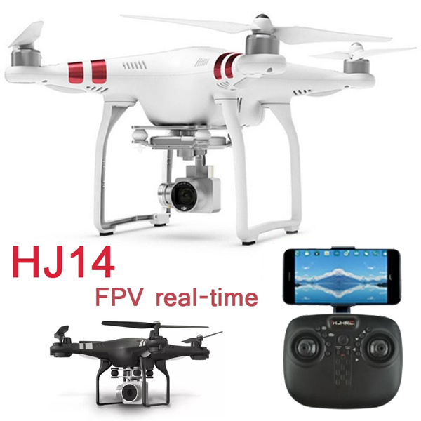 RC Drone HJ14W FPV real time transmission Mini Quadcopter 2 4G 6-Axis  Helicopter With 2 0MP HD WIFI Camera Christmas Gift