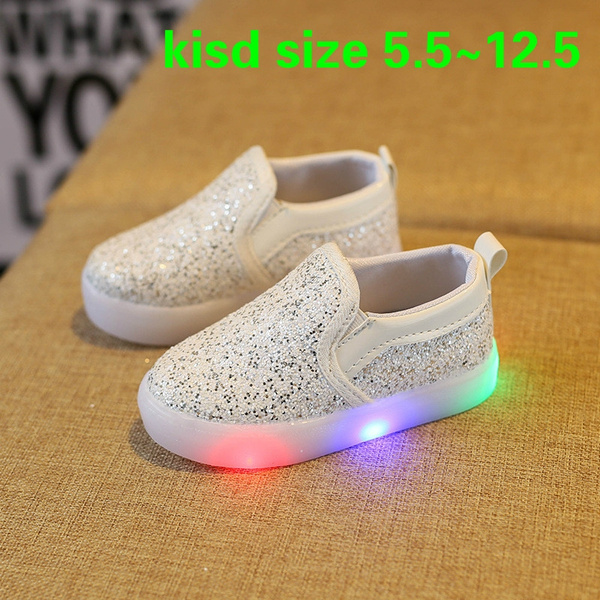 new lower prices vast selection skate shoes Kids Fashion Kids Shoes Led Kids Light Up Shoes Gold Sequins ...