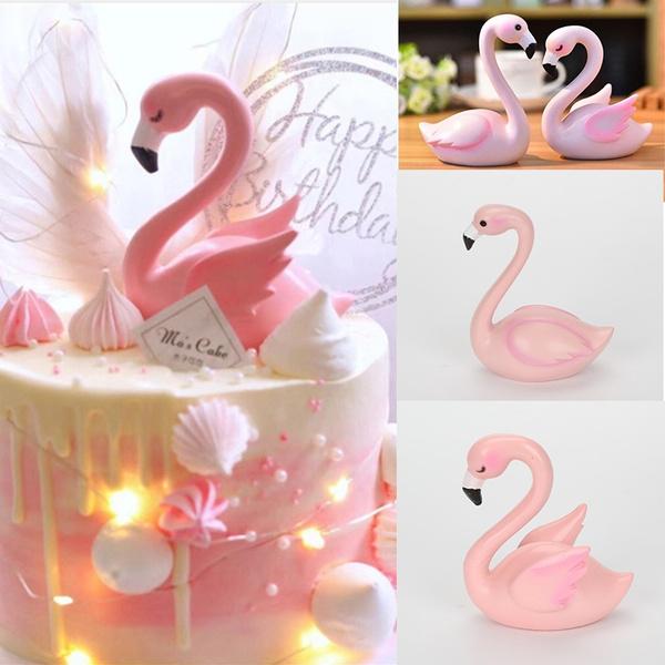 decoration, flamingo, caketopper, dessertmold