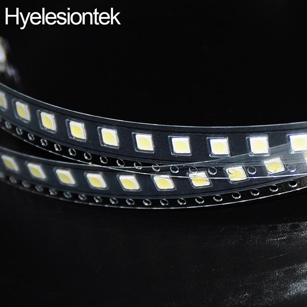 50pcs 2W 6V 3535 LED SMD For LG For Innotek Cool White LCD TV Backlight  150lm Zener Televisao TV Backlit Diod Repair Application