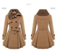 woolen, Fashion Accessory, Woman, Coat