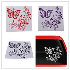 butterfly, Car Sticker, Flowers, Home Decor