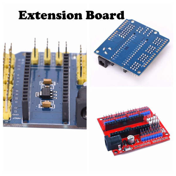 Wish | Hot UNO ATMEGA328P Durable Shield I/O Arduino Nano Expansion Module Extension Board
