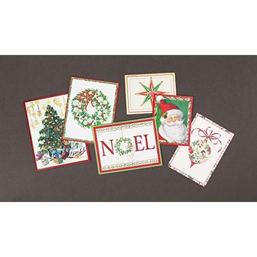 wish refurbished entertaining with caspari christmas tree shopping christmas cards box of 16 - Caspari Christmas Cards