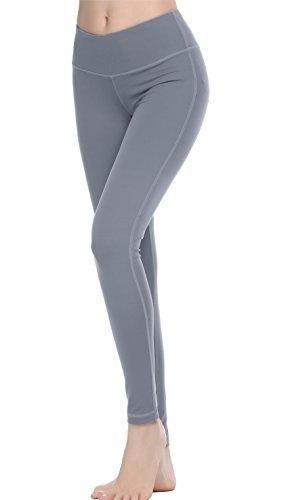 beccc01451781 Oalka Women Power Flex Yoga Pants Workout Running Leggings - All ...