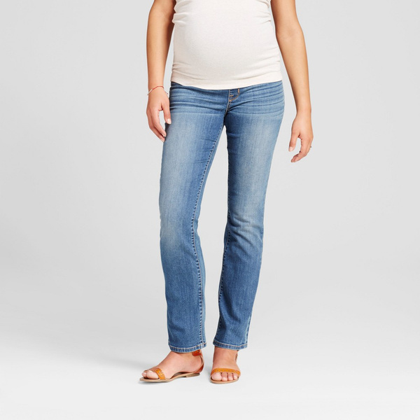 d264903626d Refurbished Isabel Maternity by Ingrid   Isabel Maternity Crossover Panel  Bootcut Jeans