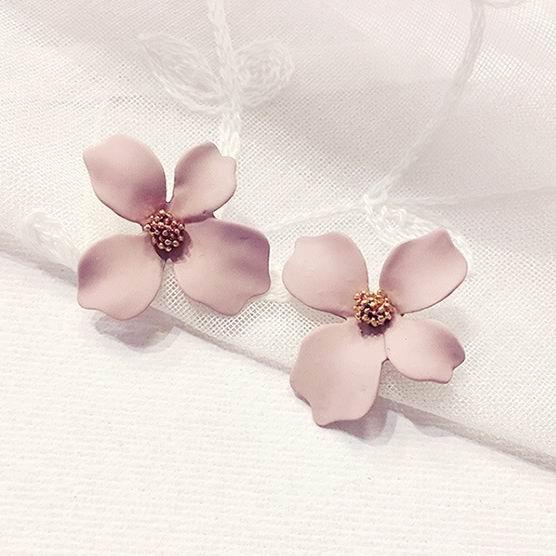 Summer, Flowers, Jewelry, Stud Earring
