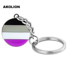 keyholder, Key Chain, lgbtpin, asexual
