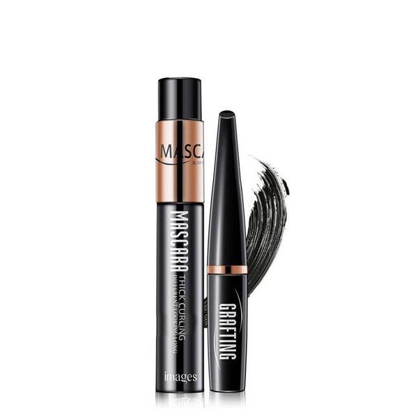 59f4dcf411b Wish   2PCS DDK 4D Silk Fiber Lash Mascara Eyelashes Long Extension  Waterproof Cosmetic