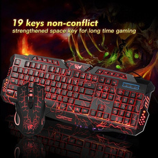 backlitkeyboard, gamingkeyboard, Fashion, led