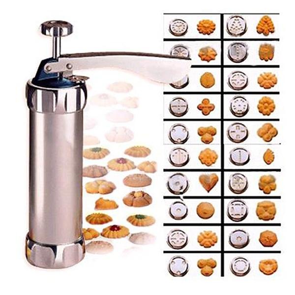 Cookie Biscuits Press Machine Kitchen Tool Cake Decorating Biscuit ...