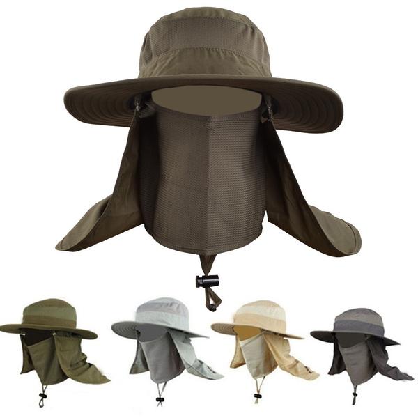 961da156 New Sunscreen Fishing Suns Anti Uv Daiva Protection Face Neck Flap Sun  CapHeadband Sun Rain Hat Cap Fishing Hiking | Wish