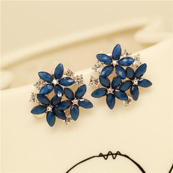 DIAMOND, Jewelry, wedding earrings, Sweets