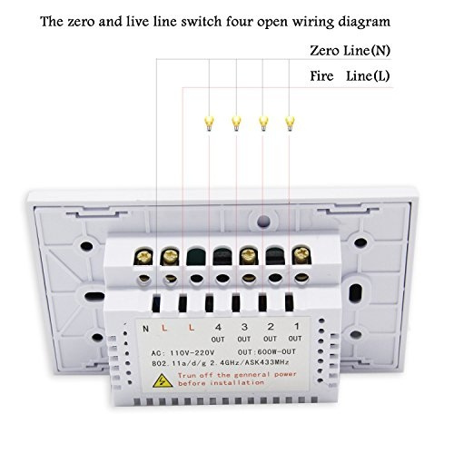 Wiring Diagram For 2 Way 2 Gang Light Switch