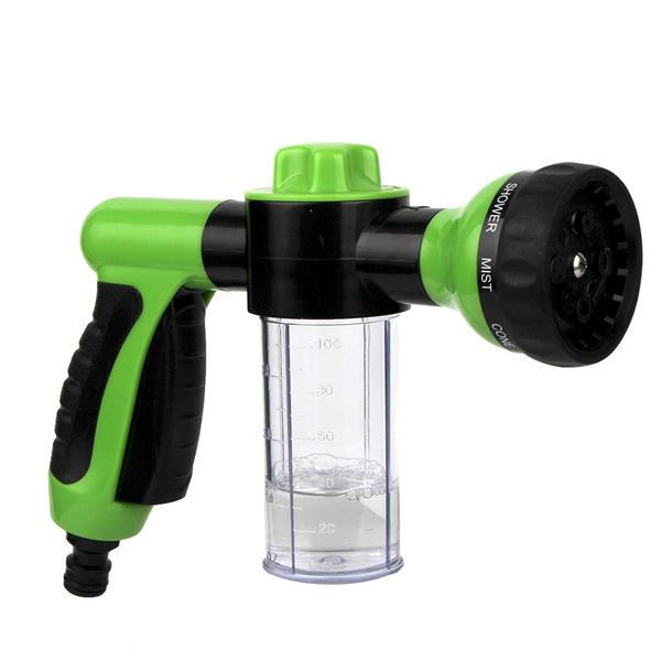 Foam Gun For Car Wash 8 Pattern Adjustable Sprayer Foam Water Gun