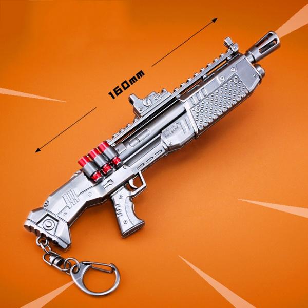 Wish Fortnite Battle Royale Weapon Model Keychain M82a1 Gun Model