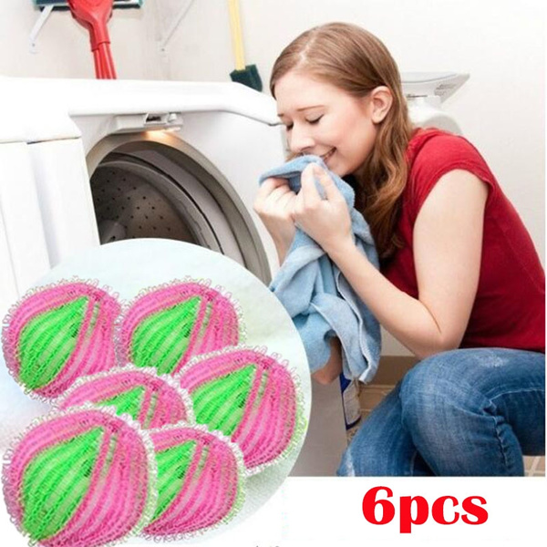 6Pcs Home Use Washing Ball Clothes Cleaner Ball Magic Washing Washing Tool  Laundry Laundry Product Laundry Dryer Washing Wash Clothes Decontamination