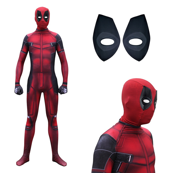 Deadpool Morphsuit Mens Costume