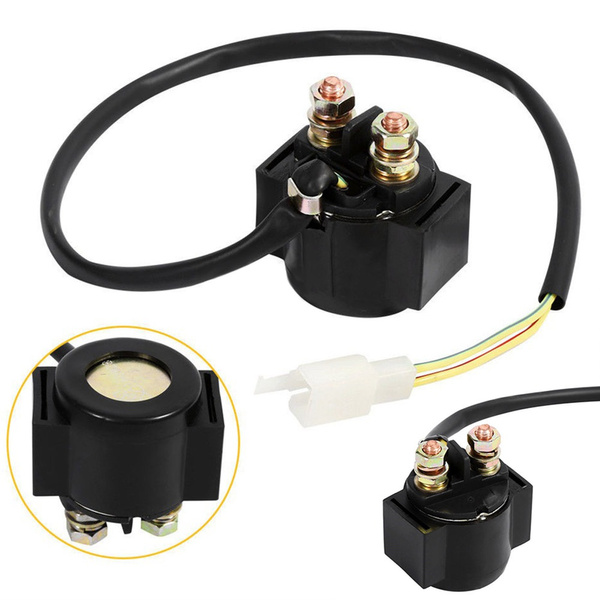 New Scooter Starter Relay Solenoid for GY6 50cc 125cc 150cc ATV