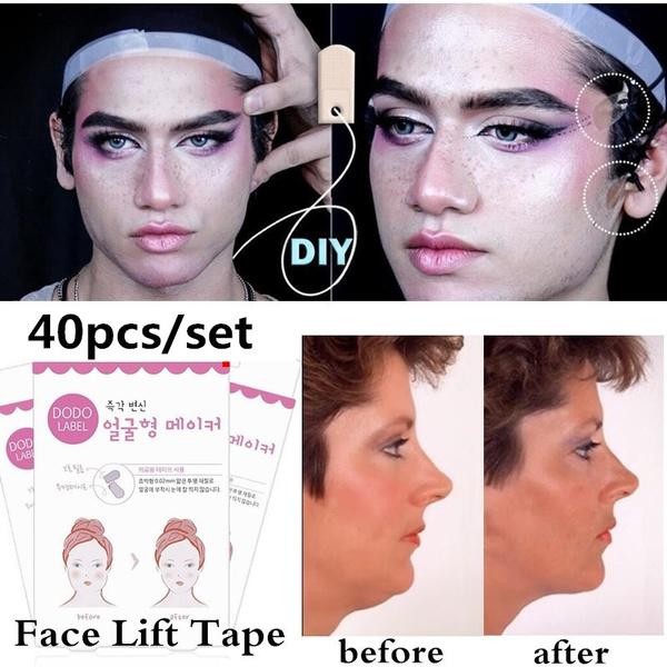 Zeer Wish   40pcs/set Lift Face Sticker Thin Face Stick Face Artifact &UL66