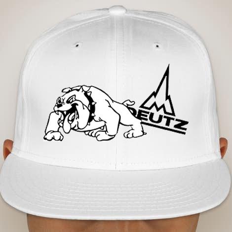 72a2bc37 Deutz AG logo with Bulldog Print Cap Unisex Men Women Cotton Cap ...