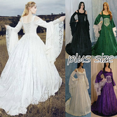 gowns, GOTHIC DRESS, Plus Size, Cosplay