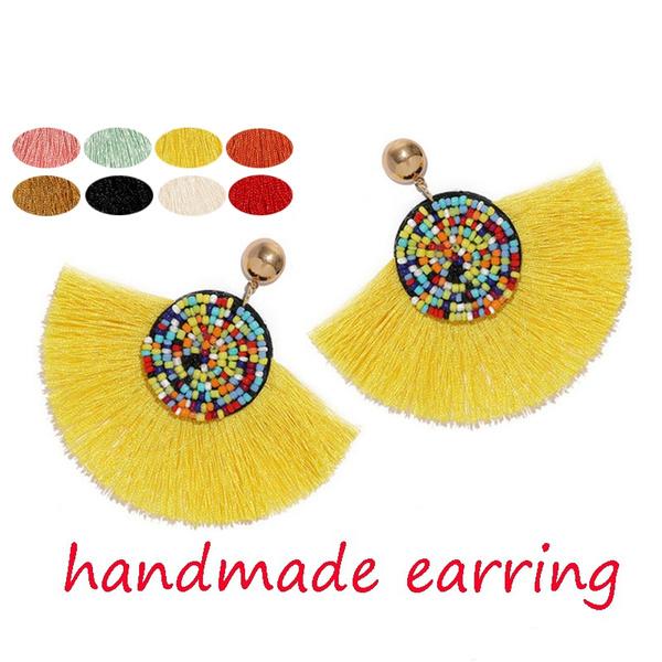 tasselsearring, Tassels, elegantearring, Earring