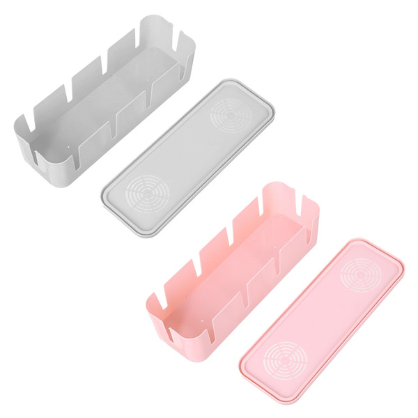 Plastic wire storage box for line storage Organizer Cable pick up box for  connections Cable strip Cable storage boxes