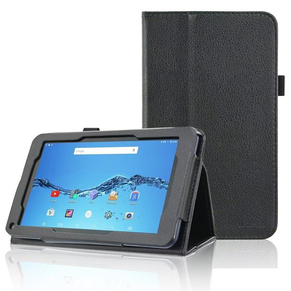 Smartab 7 HD Case, Folio Premium PU Leather Tablet Case for Smartab 7 HD /  Digiland 7