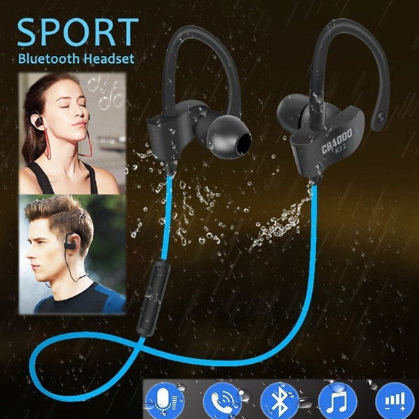 Microphone, Sport, Earphone, Bass