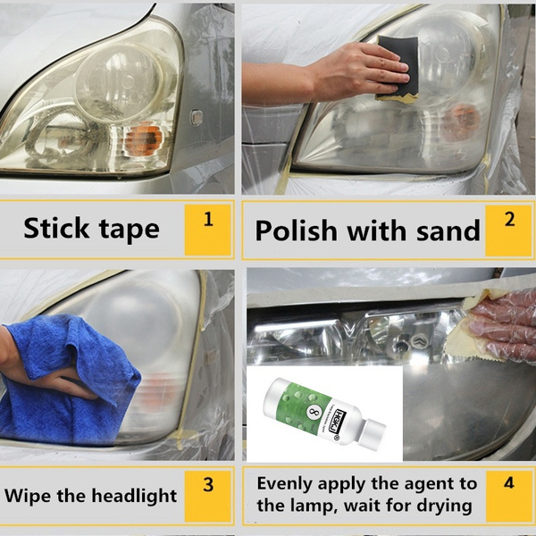 Wish Hgkj Car Headlight Restoration Polishing Tool Car Lens Repair