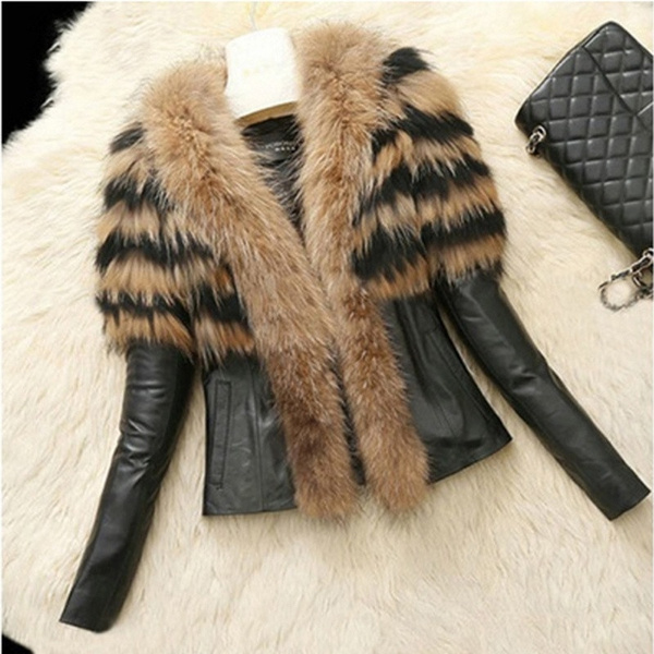 Sheep, Plus Size, Winter, leather