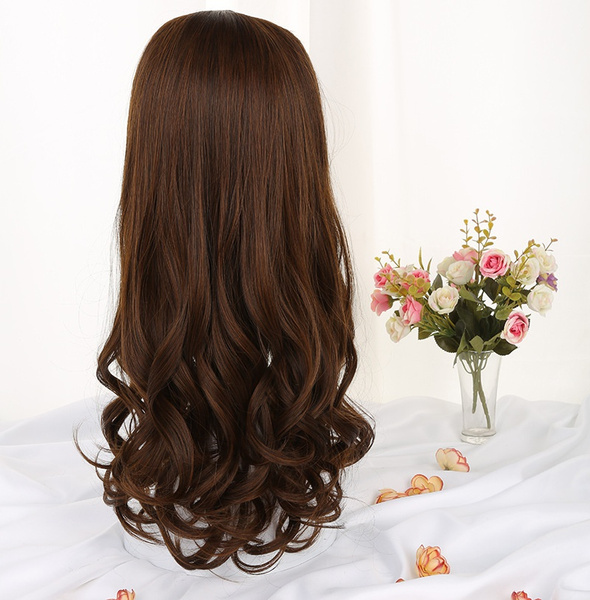 Wish Long Kinky Straight Curly U Shaped Part Half Wig Clip In Hair
