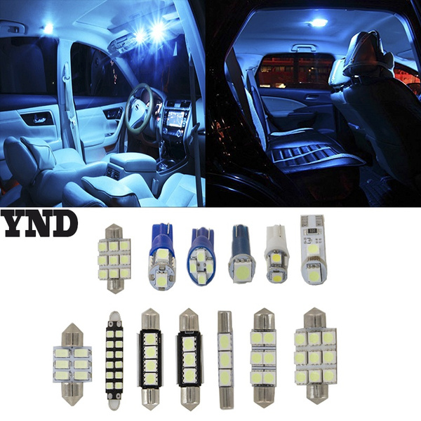 Wish Ynd12x Light Smd Full Led Interior Lights Package Deal Fit 2017 Toyota Camry 2 5l L4