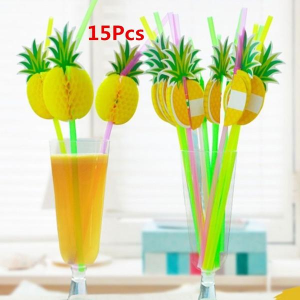 fruitstraw, drinkingstraw, Drinks, pineapplesucker