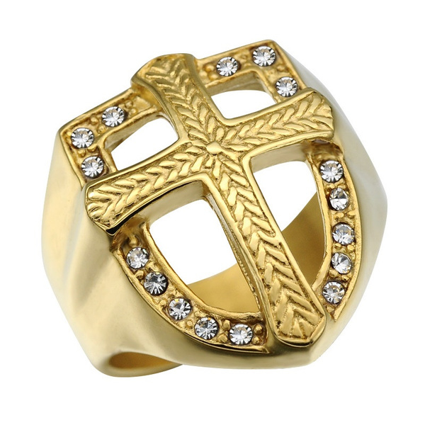 Steel, 18k gold, Jewelry, gold