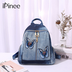 travel backpack, butterfly, School, Medium