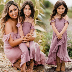 d0b5a11ce06 Mother-Daughter-Matching-Dresses | Wish
