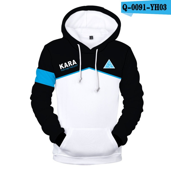Wish Aikooki Hot Game Detroit Become Human 3d Hoodies Men Women
