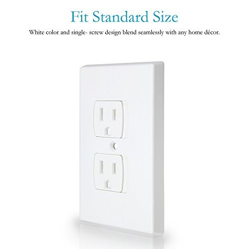 Wish Baby Safety Self Closing Electrical Outlet Covers