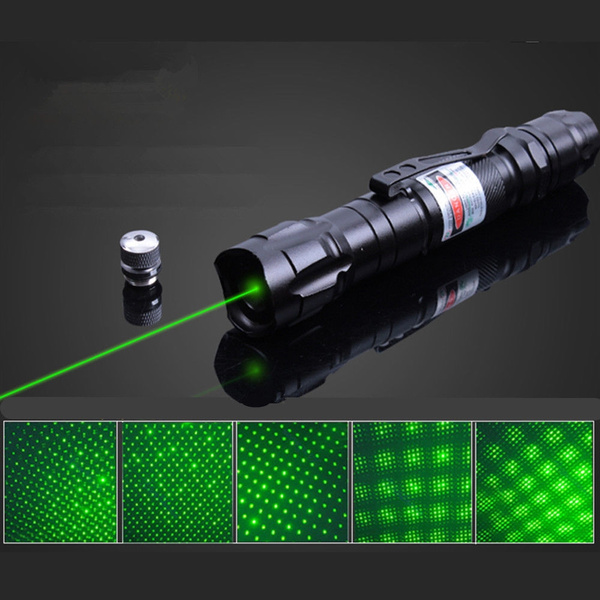 10 Miles Military Green 5mw 532nm Laser Pointer Pen Light Visible Beam Burning
