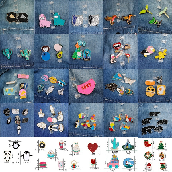 cute, clothesdecoration, broochset, Jewelry