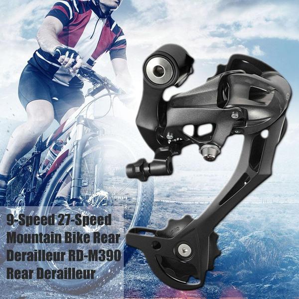 Bicycle 9-Speed 27-Speed Mountain Bike Rear Derailleur RD-M390 Rear Derailleur