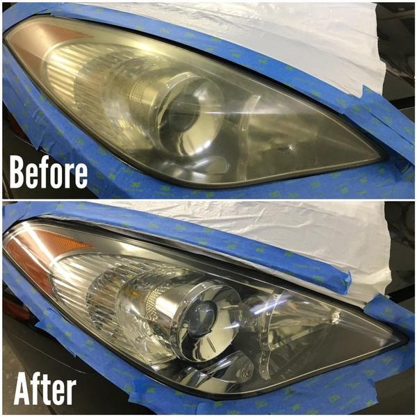 Wish Car Headlight Renovation Repair Agent Remove Scratches