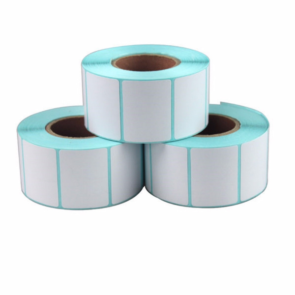 1 rolls thermal label paper 3x2cm Thermal printer Thermal Labels waterproof  barcode blank stickers (total 800 labels)