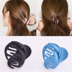 womenhairclaw, Hollow-out, acrylichairclip, ladygift