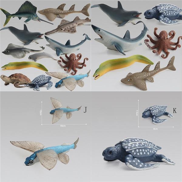 Ocean Sea Animals Turtle Kids Educational Kids Simulation Model Figure Toy