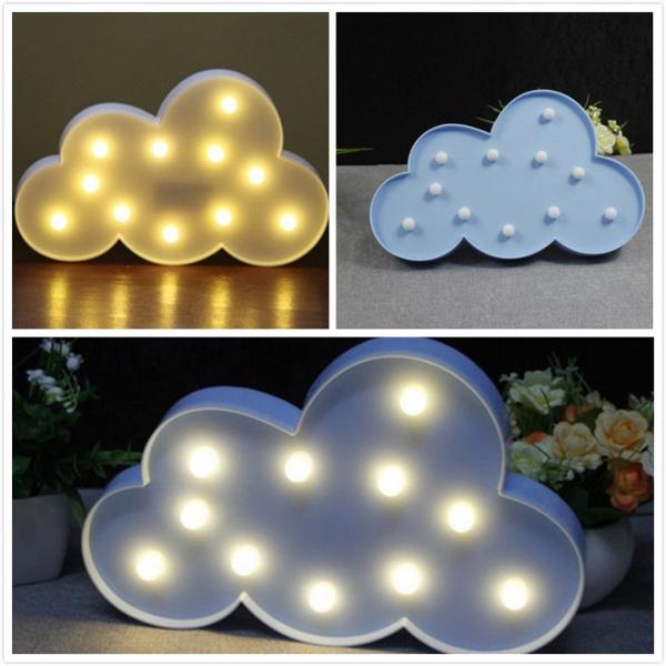 Fashion, led, Home Decor, cloudledlight