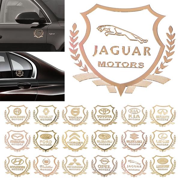 Fit  For Land Rover Car 1x 3D Car Side Metal Badge Emblem Decal Sticker